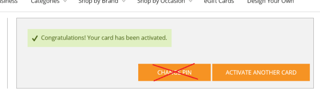 Gift Card Mall Activation Step 3