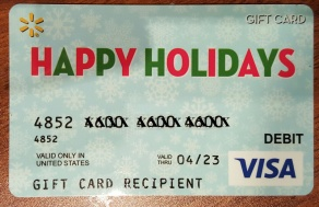 Walmart Call In Number >> PIN number for MasterCard or Visa gift cards | Miles 2 Pixels