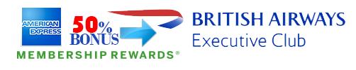 50PersentBonus-Transver-AmericanExpressMembershipRewards-To-BritishAirwaysAvios png